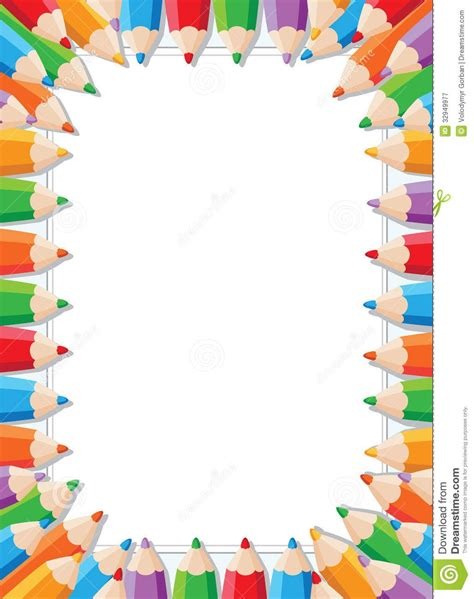 colorful borders colorful frame clipart kid frames and borders