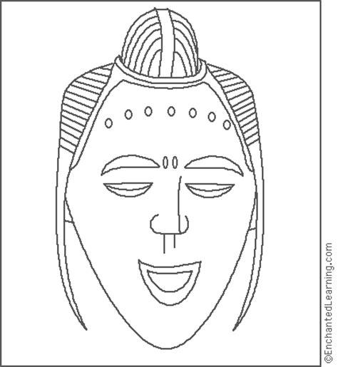 african masks templates