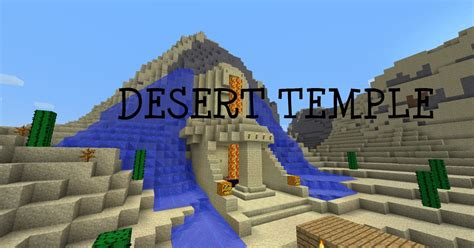 Blueprints For My House by The Desert Temple Minecraft Project