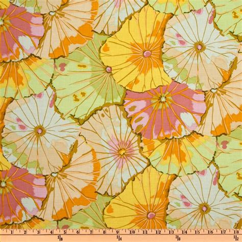 Kaffe Fassett Home Decor Fabric by Kaffe Fassett Lotus Leaf Jade Discount Designer Fabric