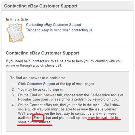 Search Ebay Seller By Email Solved Is It Possible To Contact Ebay Support Via Email R