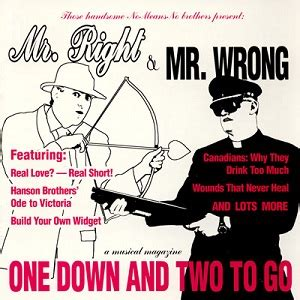 Mr Wrong mr right mr wrong one two to go