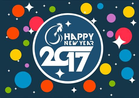 banner design happy new year blue new year banner 2017 new year banner colorful circles