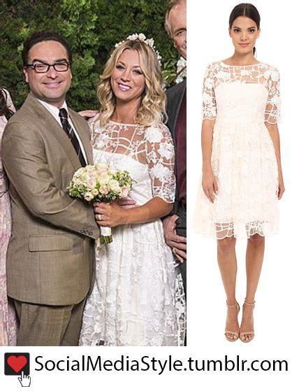 hochzeitskleid amy big bang theory kaley cuoco penny s the big bang theory wedding dress