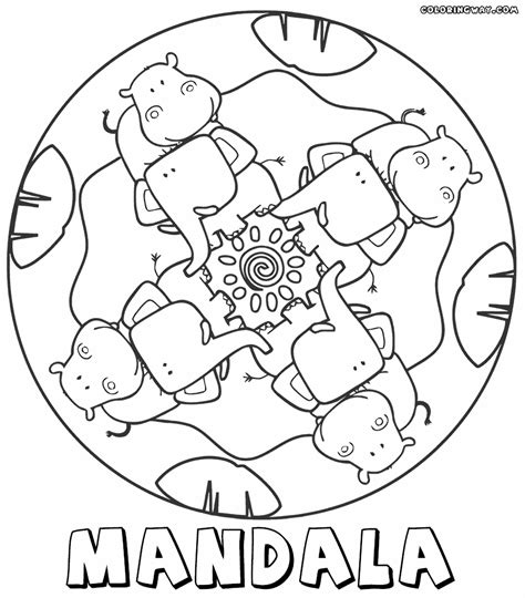 mandala coloring pages for preschoolers mandala coloring pages az coloring pages