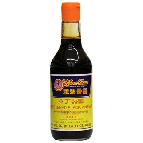 black vinegar koon chun sweetened black vinegar 20 fl oz