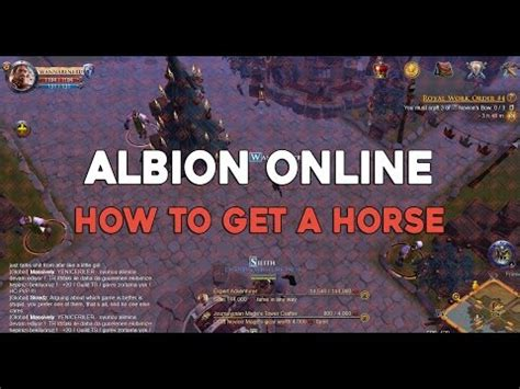 reset albion online albion online how to get a horse albiononline