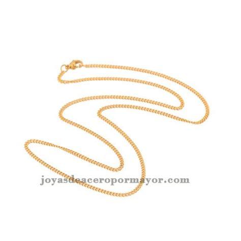cadena oro peru 50 5cm cadenas de oro 18k en acer inoxidable cadena