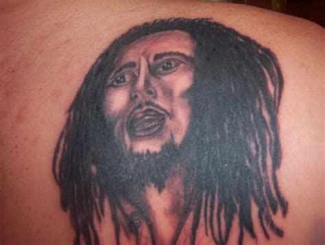 bob marley tribal tattoos design bob marley