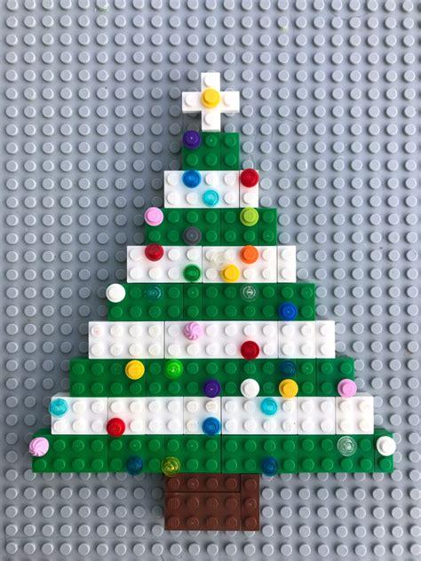 how to make a lego christmas tree lego tree