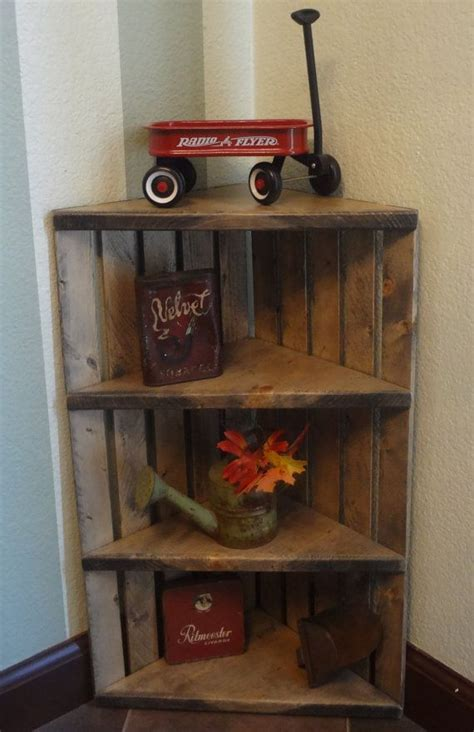 25 best ideas about wooden corner shelf on