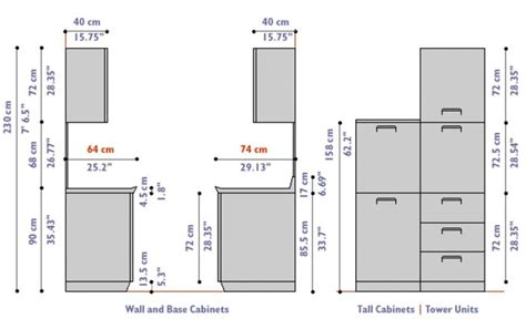 kitchen cabinet size door design outline search ww standards