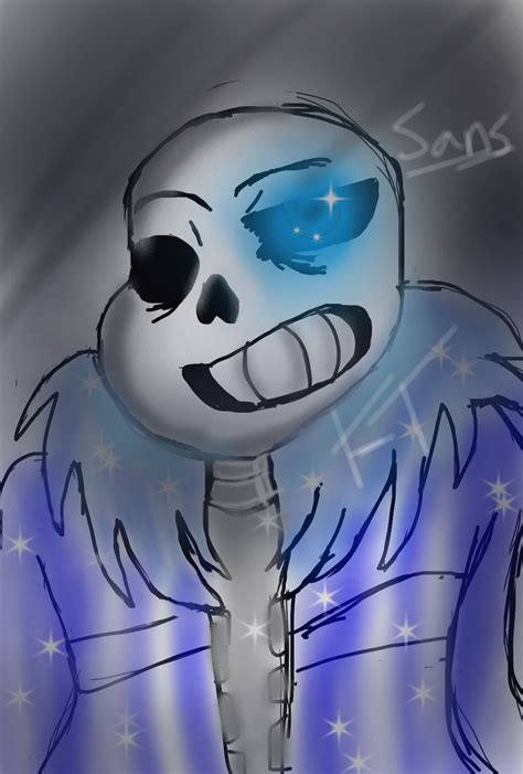 undertale sans the skeleton sans the skeleton undertale ibispaint