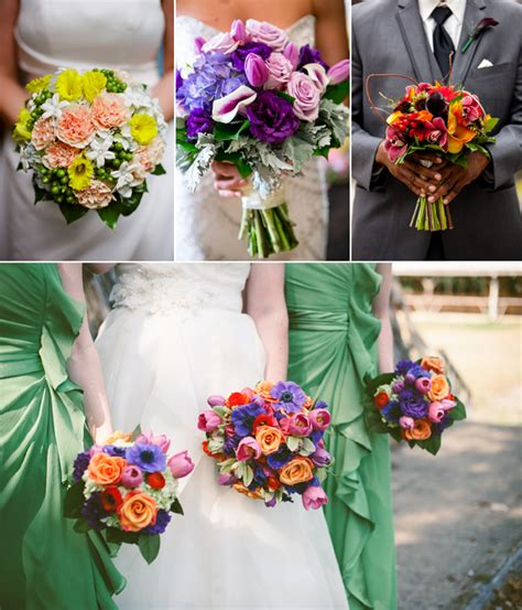 wedding colour themes spring and summer brides wedding flowers spring summer wedding bouquet themes
