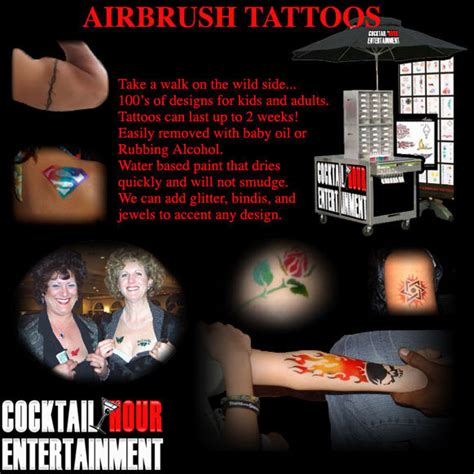 how long do airbrush tattoos last florida airbrush tattoos