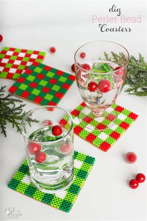diy coasters a cute christmas craft or gift idea