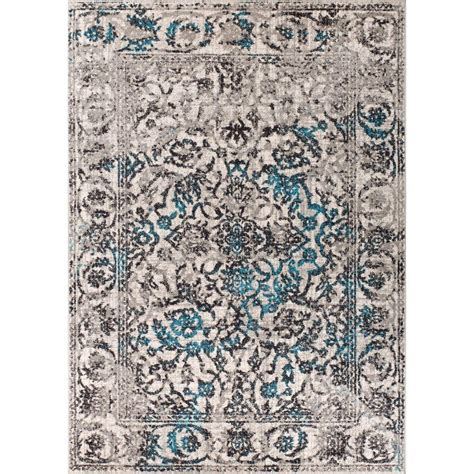 Well Woven Sydney Vintage Sheffield Blue 3 Ft 3 In X 4 Rug Sydney
