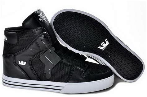 supra shoes vaider skate shoes black leather mesh shoes the supra