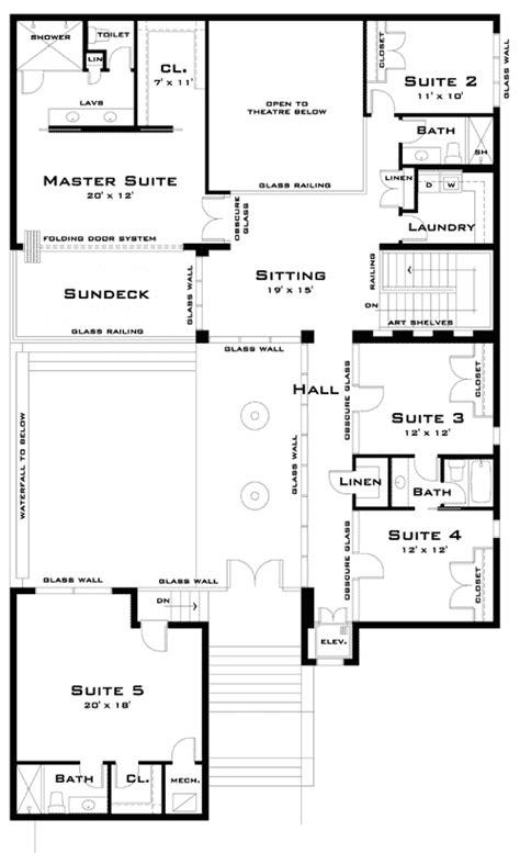 modern beach home plans modern beach home plan with video tour 44048td