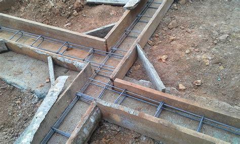 Concrete Block Basement Construction Poured Retaining