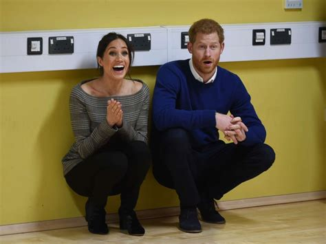 harry and meghan markle prince harry meghan markle greeted by cheering fans in