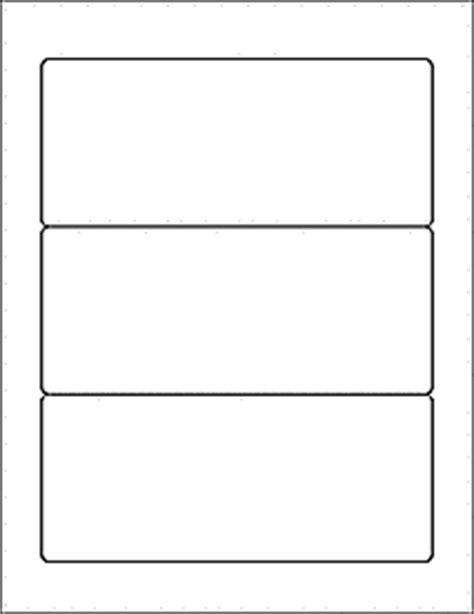 3 labels per sheet template label templates ol5925 7 quot x 3 quot labels