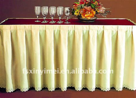 Elegant Table Skirting For Banquet Buy Table Skirting Buffet Table Skirting