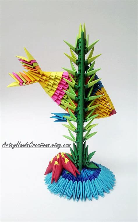 3d fish origami 1000 images about origami 3d on origami paper