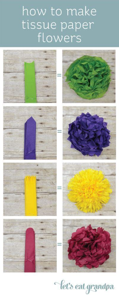 Easy Ways To Make Paper Flowers - how to make tissue paper flowers four ways to be