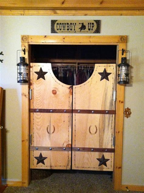 Western Closet by Saloon Closet Doors Decorating Ideas