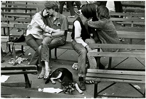 new year date in 1967 of tompkins square park new york city summer of