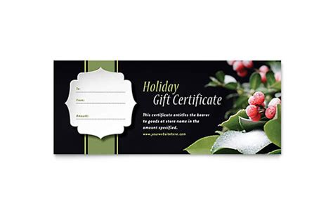 gift certificate template indesign gift certificate templates indesign illustrator publisher