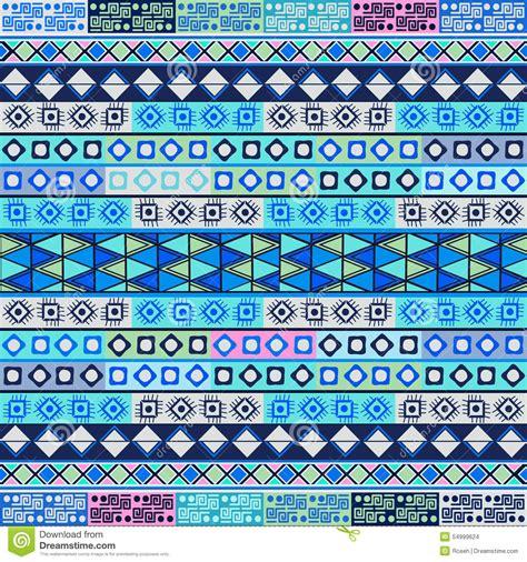 Soft Motif Tribal soft blue tribal motif stock illustration image 54999624