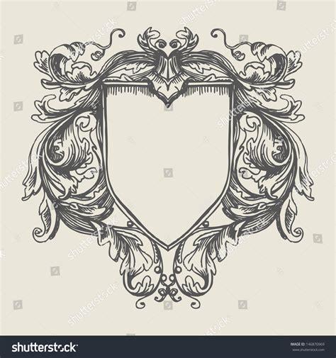 vintage ornament vector pattern vector vintage border frame engraving retro stock vector