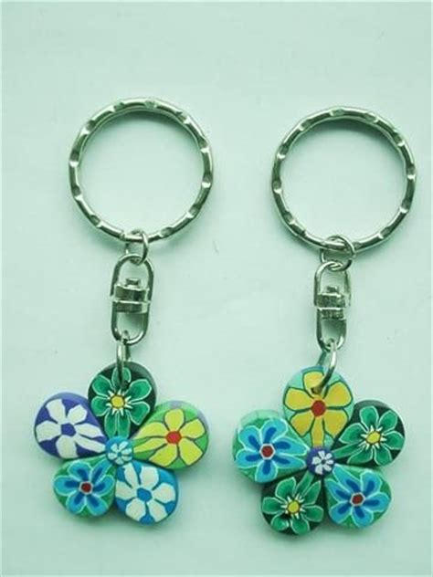 Gc Laurel Fhasion Five Supplier key chains completely made fimo clay id 6816530