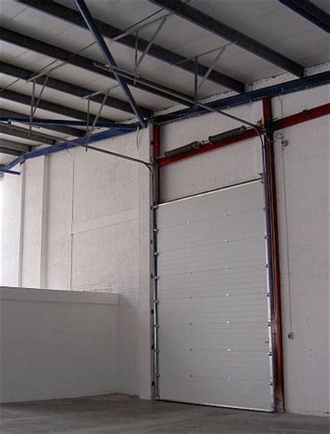 sectional overhead doors cobra 610 insulated sectional overhead door