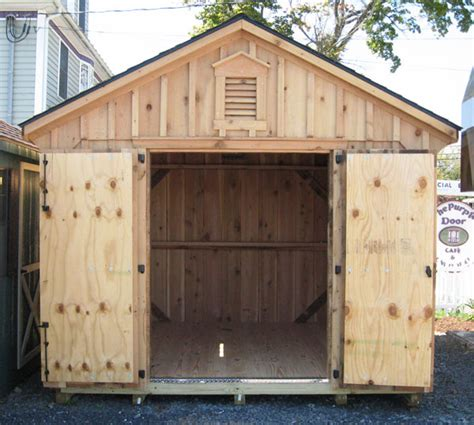 Amish Built Sheds Cedar Storage Sheds Alan S Factory Outlet Cedar Shed Available In A Variety Of Sizes