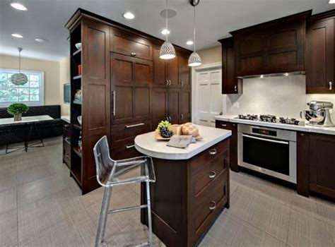 Small Kitchen With Island Kitchen Island Design Ideas With Seating Smart Tables Carts Lighting