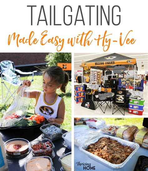 tailgating recipes for cold weather tailgating made easy with hy vee thriving home