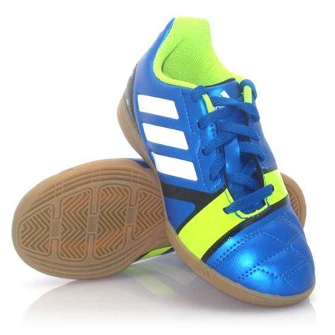 kid indoor soccer shoes adidas nitrocharge 3 0 indoor soccer shoes blue