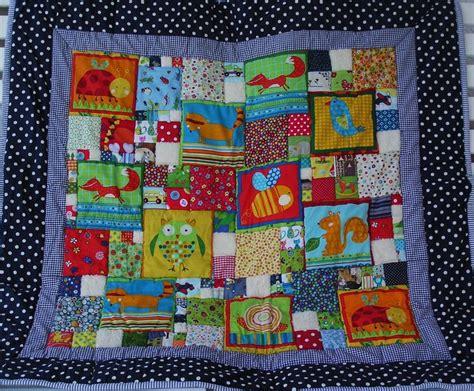 Decke Quilten by Baby Krabbeldecke Patchworkdecke Mit Lustige Products