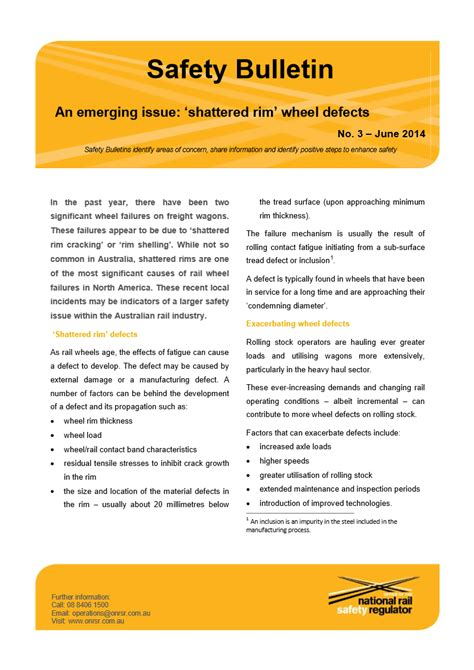 safety bulletin template safety bulletin template gallery template design ideas