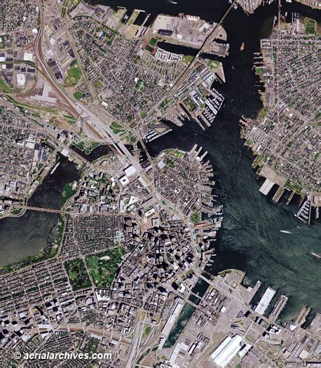 aerial maps aerial maps of boston massachusetts