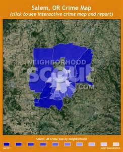 salem oregon crime map salem or crime rates and statistics neighborhoodscout