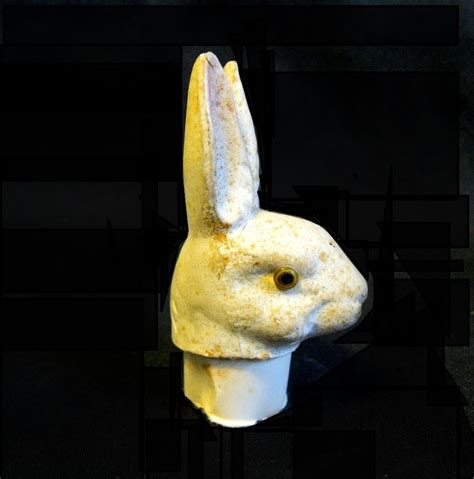 Easter Paper Mache Shop Collectibles - glass eyed papier mache easter rabbit container
