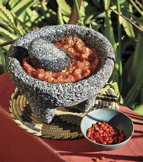 salsa de molcajete  chiltepins phoenix home garden
