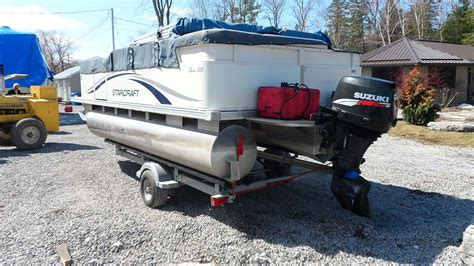 starcraft boats for sale in ontario 2007 starcraft classic 200 pontoon boat for sale in the