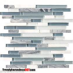 blue and white backsplash tiles sle blue white marble glass mosaic tile kitchen