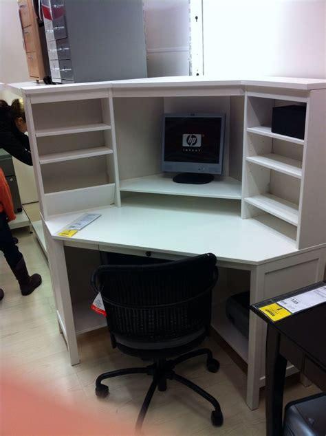 ikea hemnes corner desk office ideas pinterest desks