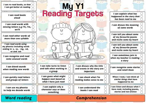 year 5 english targeted 0008201676 new curriculum 2014 pupil reading target sheet year 1 by